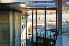 Το Reina Museo μουσείο της Sofia στη Μαδρίτη Στοκ εικόνα με δικαίωμα ελεύθερης χρήσης