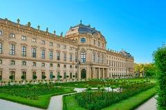 Το Residenz του Wurzburg, Γερμανία Στοκ Εικόνες