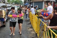 Ταϊλανδικό νέο έτος - Songkran Στοκ εικόνα με δικαίωμα ελεύθερης χρήσης