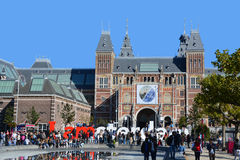 Το Rijksmuseum Στοκ Φωτογραφίες