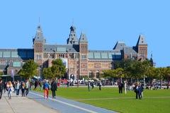 Το Rijksmuseum Στοκ Φωτογραφία