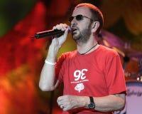 Το Ringo Starr αποδίδει στη συναυλία στοκ φωτογραφία με δικαίωμα ελεύθερης χρήσης