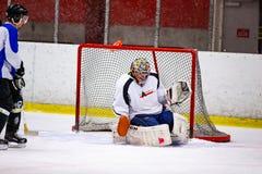 Το Rinkball είναι ένας αθλητισμός παρόμοιος με το χόκεϋ πάγου - ΚΥΡΙΟ ΆΡΘΡΟ στοκ φωτογραφία