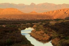 Το Rio Grande στοκ φωτογραφία