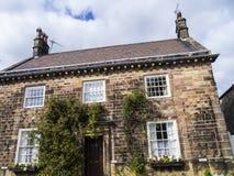 Το Ripley είναι ένα χωριό και μια αστική κοινότητα στο βόρειο Γιορκσάιρ στην Αγγλία, μερικά μίλια βόρεια Harrogate Ένα κάστρο που Στοκ Εικόνες