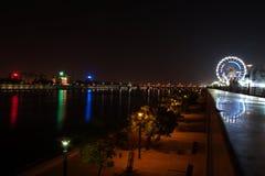 Το Riverfront Sabarmati, Ahmedabad, Ινδία Στοκ φωτογραφίες με δικαίωμα ελεύθερης χρήσης