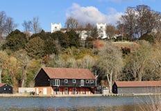 Το RiverThames στην Αγγλία Στοκ εικόνες με δικαίωμα ελεύθερης χρήσης