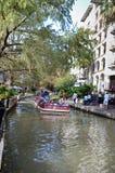 Το riverwalk του στο κέντρο της πόλης San Antonio Στοκ φωτογραφία με δικαίωμα ελεύθερης χρήσης
