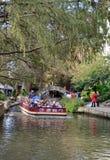 Το riverwalk του στο κέντρο της πόλης San Antonio Στοκ εικόνα με δικαίωμα ελεύθερης χρήσης