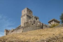 Το Rocca Maggiore, Assisi, Ουμβρία, Ιταλία [2] Στοκ Εικόνες