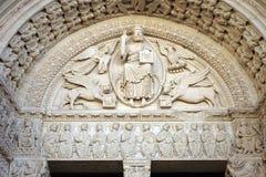 Το Romanesque Cathedrale Άγιος-Trophime d'Arles Στοκ εικόνα με δικαίωμα ελεύθερης χρήσης