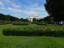 Το Rose Garden στο Volksgarten στοκ εικόνα