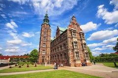 Το Rosenborg Castle είναι κάστρο που τοποθετείται στο κέντρο της Κοπεγχάγης, Δανία Στοκ φωτογραφία με δικαίωμα ελεύθερης χρήσης