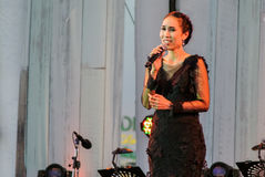 Το Rudklao Amratisha αποδίδει στη Jazz στη μνήμη σε Bangsaen Στοκ φωτογραφίες με δικαίωμα ελεύθερης χρήσης