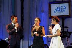 Το Rudklao Amratisha αποδίδει στη Jazz στη μνήμη σε Bangsaen Στοκ Εικόνες