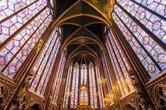 Το Sainte Chapelle στο Παρίσι Στοκ Φωτογραφίες