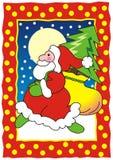 Το Santa έρχεται… διανυσματική απεικόνιση