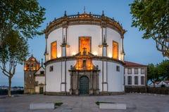 Το Serra κάνει το τριχώδες μοναστήρι στο Πόρτο, Πορτογαλία στοκ εικόνα