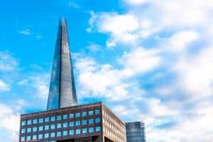 Το Shard Λονδίνο Στοκ εικόνα με δικαίωμα ελεύθερης χρήσης