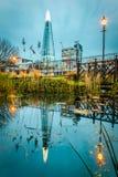 Το Shard Λονδίνο UK Στοκ Φωτογραφία