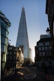 Το Shard στο Λονδίνο από την αγορά δήμων Στοκ Εικόνα