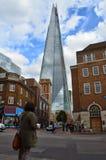 Το Shard, στο Λονδίνο στοκ εικόνες με δικαίωμα ελεύθερης χρήσης