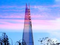Το Shard - υψηλότερος ουρανοξύστης στην Ευρώπη - το Λονδίνο Στοκ εικόνα με δικαίωμα ελεύθερης χρήσης