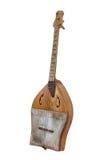 Το Sherter Καζάκος και αρχαίο Turkic το μουσικό όργανο Στοκ εικόνα με δικαίωμα ελεύθερης χρήσης