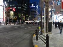 το shibuya τη νύχτα Στοκ Φωτογραφίες