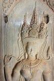 Το Siem συγκεντρώνει, Καμπότζη - 5 Δεκεμβρίου 2016: Ανακούφιση σε Angkor Wat ένα famou Στοκ Φωτογραφίες