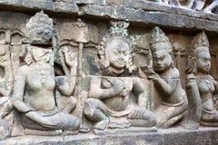 Το Siem συγκεντρώνει, Καμπότζη - 10 Δεκεμβρίου 2016: Ανακούφιση στο πεζούλι Lepe Στοκ Εικόνα