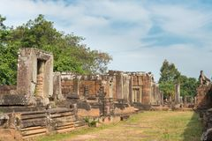 Το Siem συγκεντρώνει, Καμπότζη - 11 Δεκεμβρίου 2016: Ανατολή Mebon σε Angkor ένα famou Στοκ εικόνα με δικαίωμα ελεύθερης χρήσης