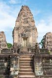Το Siem συγκεντρώνει, Καμπότζη - 11 Δεκεμβρίου 2016: Ανατολή Mebon σε Angkor ένα famou Στοκ Εικόνες