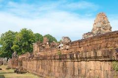 Το Siem συγκεντρώνει, Καμπότζη - 11 Δεκεμβρίου 2016: Ανατολή Mebon σε Angkor ένα famou Στοκ φωτογραφία με δικαίωμα ελεύθερης χρήσης