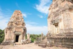Το Siem συγκεντρώνει, Καμπότζη - 11 Δεκεμβρίου 2016: Ανατολή Mebon σε Angkor ένα famou Στοκ Φωτογραφία