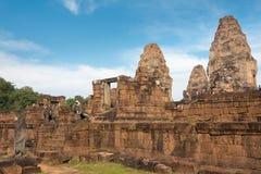 Το Siem συγκεντρώνει, Καμπότζη - 11 Δεκεμβρίου 2016: Ανατολή Mebon σε Angkor ένα famou Στοκ Εικόνα
