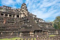 Το Siem συγκεντρώνει, Καμπότζη - 10 Δεκεμβρίου 2016: Ναός Baphuon σε Angkor Thom Στοκ Εικόνες