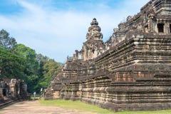 Το Siem συγκεντρώνει, Καμπότζη - 10 Δεκεμβρίου 2016: Ναός Baphuon σε Angkor Thom Στοκ Φωτογραφίες