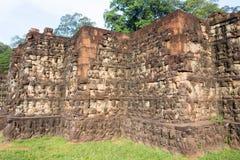 Το Siem συγκεντρώνει, Καμπότζη - 10 Δεκεμβρίου 2016: Πεζούλι του βασιλιά λεπρών μέσα Στοκ φωτογραφία με δικαίωμα ελεύθερης χρήσης