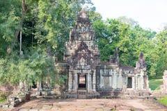 Το Siem συγκεντρώνει, Καμπότζη - 10 Δεκεμβρίου 2016: Πεζούλι των ελεφάντων στο Α Στοκ φωτογραφία με δικαίωμα ελεύθερης χρήσης