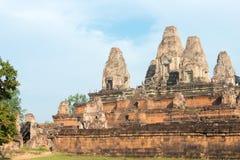 Το Siem συγκεντρώνει, Καμπότζη - 11 Δεκεμβρίου 2016: Προ Rup σε Angkor ένα διάσημο χ Στοκ εικόνα με δικαίωμα ελεύθερης χρήσης
