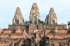 Το Siem συγκεντρώνει, Καμπότζη - 11 Δεκεμβρίου 2016: Προ Rup σε Angkor ένα διάσημο χ Στοκ Εικόνα