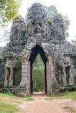 Το Siem συγκεντρώνει, Καμπότζη - 13 Δεκεμβρίου 2016: Πύλη των νεκρών στο θόριο Angkor Στοκ φωτογραφίες με δικαίωμα ελεύθερης χρήσης