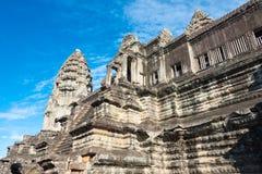 Το Siem συγκεντρώνει, Καμπότζη - 5 Δεκεμβρίου 2016: Angkor Wat διάσημος ένας ιστορικός Στοκ εικόνες με δικαίωμα ελεύθερης χρήσης