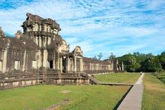 Το Siem συγκεντρώνει, Καμπότζη - 5 Δεκεμβρίου 2016: Angkor Wat διάσημος ένας ιστορικός Στοκ εικόνα με δικαίωμα ελεύθερης χρήσης