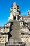 Το Siem συγκεντρώνει, Καμπότζη - 5 Δεκεμβρίου 2016: Angkor Wat διάσημος ένας ιστορικός Στοκ Φωτογραφία