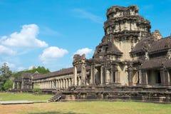 Το Siem συγκεντρώνει, Καμπότζη - 10 Δεκεμβρίου 2016: Angkor Wat διάσημος ένας ιστορικός Στοκ φωτογραφία με δικαίωμα ελεύθερης χρήσης