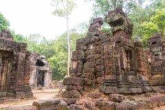 Το Siem συγκεντρώνει, Καμπότζη - 13 Δεκεμβρίου 2016: Krol Ko σε Angkor ένα διάσημο χ Στοκ εικόνες με δικαίωμα ελεύθερης χρήσης