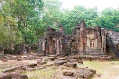 Το Siem συγκεντρώνει, Καμπότζη - 13 Δεκεμβρίου 2016: Krol Ko σε Angkor ένα διάσημο χ Στοκ φωτογραφία με δικαίωμα ελεύθερης χρήσης