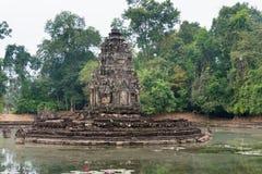 Το Siem συγκεντρώνει, Καμπότζη - 13 Δεκεμβρίου 2016: Neak Pean σε Angkor ένας διάσημος Στοκ Εικόνες